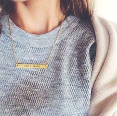 Good Vibes Necklace | LoveRewritten.com