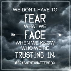 Crash the Chatterbox is for anyone looking to overpower the lies of insecurity, fear, condemnation, and discouragement with the promises of God. Discover how to hear God's voice above all the others.  http://crashthechatterbox.com