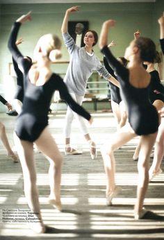 Svetlana Zakharova in La Scala, 2008 (from Vogue Russia).      // ]]]]>]]>