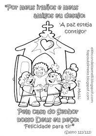 Salmo 121 122 Para Colorir Com Imagens Biblia Para Criancas