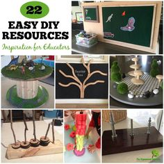 Be inspired to save money and make your own DIY resources for play and learning with this collection of easy ideas shared by real early years educators.