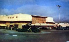 Northgate Mall in the 1950s, with the legendary Legend Room on the left, now used simply for storage space.