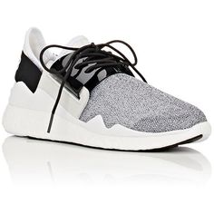 Y-3 Women's Chimu Boost Sneakers (39755 RSD) ❤ liked on Polyvore featuring shoes, sneakers, mesh shoes, slip-on shoes, low top, mesh sneakers and pull-on sneakers