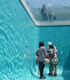 Fancy | Simulated Swimming Pool by Leandro Erlich @ Kanazawa, Japan