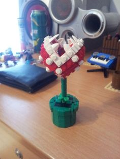 A piranha plant from Super Mario Bros. | 24 Unexpectedly Awesome Lego Creations