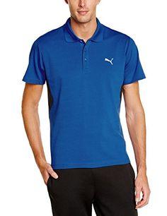 PUMA Herren Polo Shirt Active, Strong Blue, M, 832206 08