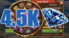 SPENDING DIAMONDS | Magic Rush Heroes - Magic Wheel Video Games, Diamonds, Magic, Videogames, Diamond, Video Game