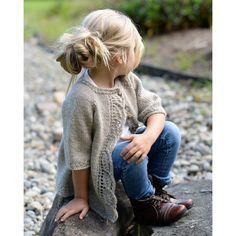 Knitting pattern for Cove Cardigan for children - This children's sweater by Velvet Acorn features a leaf lace front. Sizes year pattern for Cove Cardigan for children - This children's sweater by Velvet Acorn features a leaf lace front. Knitting Patterns Free, Knit Patterns, Free Knitting, Baby Knitting, Crochet Baby, Knit Crochet, Sweater Patterns, Ravelry Crochet, Vintage Knitting