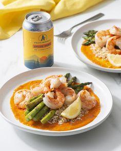 Small Food Processor, Food Processor Recipes, Roasted Shrimp, Vegan Shrimp, Clean Eating, Healthy Eating, Shrimp And Asparagus, Think Food, Cooking Recipes