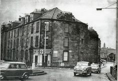 Greenock - corner of Nelson Street