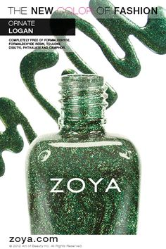 Zoya Nail Polish in Logan from the Zoya Ornate Collection!