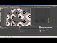Cinema 4D Tutorial How to UV Unwrap Body Paint - YouTube