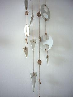 Heather Levine Ceramics wall hanging