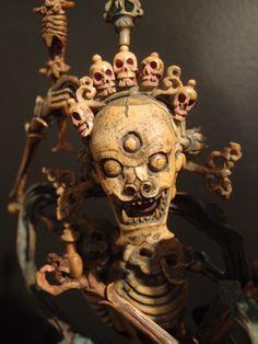 Asian Art | A Bone Figure of Chitipati - Shri Shmashana Adhipati - The Curator's Eye