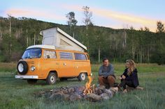Roll with Rachel & James in a VW Bus