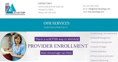 Medical Credentialing by Med Advantage.