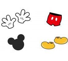 Aplique para Tubete Mickey