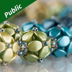 BERRIES HARVEST-Necklace Using Czech Glass Pinch Beads