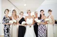 Beautiful bridal party at this Jepson Center Wedding in Savannah …  Photography by Jade   Matthew Take Pictures / jadeandmatthew.com, Planning   Design by From This Day Forward / weddingsfromthisdayforward.com, Floral Design by A to Zinnias / atozinnias.com