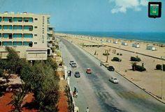 Platja de Gandia, 1965. Hotel San Luis.