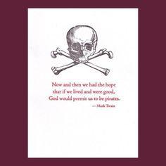 Pirate ambition