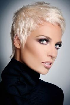... Short Haircut For Round Face And Thin Hair ...