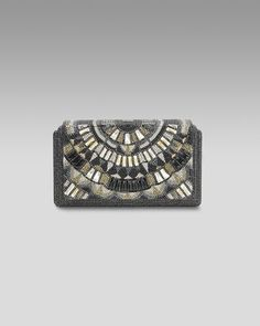 Houston Pave Deco Clutch by Judith Leiber at Neiman Marcus.