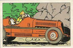 Tintin racing • Tintin, Herge j'aime