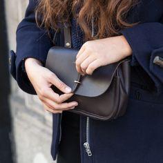 Bleu de Chauffe, Mini postman bag Pastel. Mini sac postier Pastel. Made in France