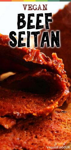 How to make the wonderful plant-based food Seitan. This recipe is simple but really tasty and will soon become a staple of your Sunday roast dinner. Seitan Roast Recipe, Vegan Seitan Recipe, Vegan Beef, Vegan Roast, Vegan Vegetarian, Vegetarian Recipes, Vegan Food, Seitan Recipes, Roast Beef Recipes