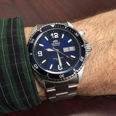 What Orient You Wearing Today - Page 443 Cool Watches, Watches For Men, Orient Watch, Watch Companies, Men's Collection, Seiko, Citizen, Chronograph, Omega Watch