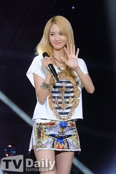Girls Generation Yoona 'Party' live