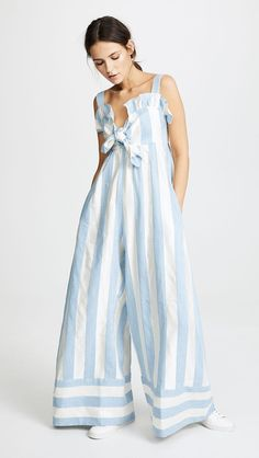 STYLECASTER | 19 Linen Jumpsuits to Shop this Summer | PAPER London Beach Boy Jumpsuit, $670