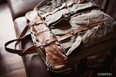 Diese Tasche bietet viel Stauraum und viel Design.