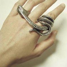 Anillo Double Snake
