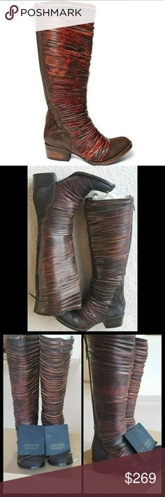 Logan Freebird Leather Boot Selling for my sister. These are brand new with box. Steve Madden Shoes Heeled Boots