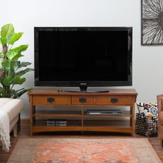 Belham Living Everett Mission TV Stand | from hayneedle.com