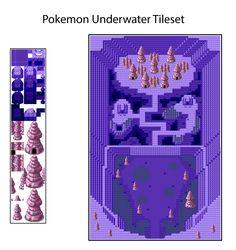 Underwater Tileset based on 3gen