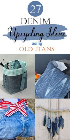 Sewing Tips, Sewing Hacks, Sewing Ideas, Sewing Projects, Sewing Patterns, Craft Projects, Denim Quilts, Denim Fabric, Upcycled Clothing