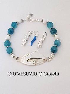 Guarda questo articolo nel mio negozio Etsy https://www.etsy.com/it/listing/553580946/ovesuvio-vesuvius-bracelets-silver