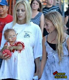 Awesome Mother+Child/ren Halloween costume!