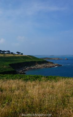 Walking around the eastern side of St Mary's island in the Isles of Scilly.