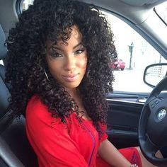 I capelli ricci afro