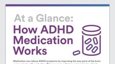 How does ADHD medication work? See how stimulant and non-stimulant medication for ADHD affect brain chemistry. Learn about how ADHD drugs work in the brain.