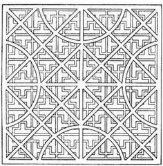 Geometric Design Colouring Pictures Stained Glass ColouringPages