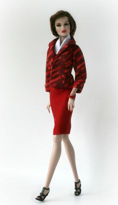 Red Suit by Chic Barbie Designs on Etsy