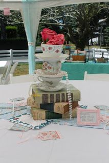 Partleigh Put-Together: It's A Mad Hatter Bridal Shower