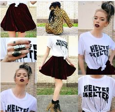 Grav3yardgirl outfit of the day -  I love it! <3