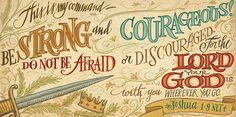 Hand-lettered and illustrated Bible verses for Workman Publishing.