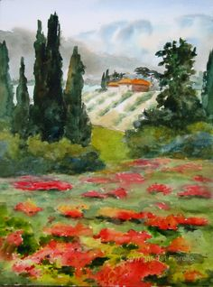 Pat Fiorello: Paintings | Watercolor Paintings ~ Landscapes